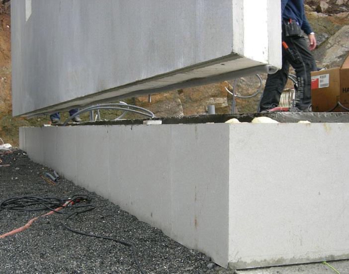 färdiga betongväggar pris